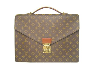 Louis Vuitton Monogram bag Porto document LOUIS VUITTON Vuitton M53338 business back documents case Briefcase Briefcase
