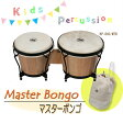 【プレゼントに】 (キッズパーカッション)マスターボンゴ KP-860/MTB