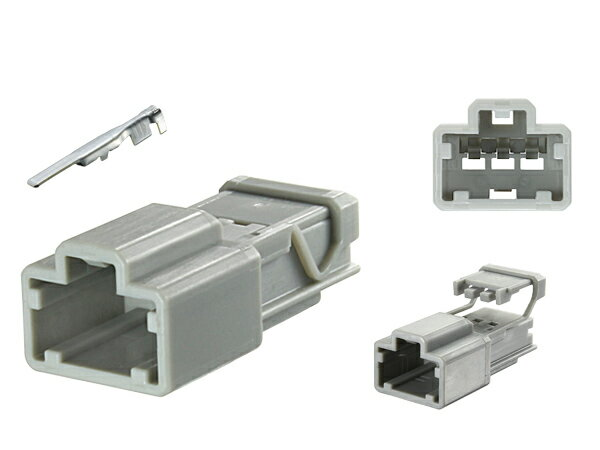 住友電装製090型HDシリーズ3極Mコネクタ(端子付)/3P090K-HD-M