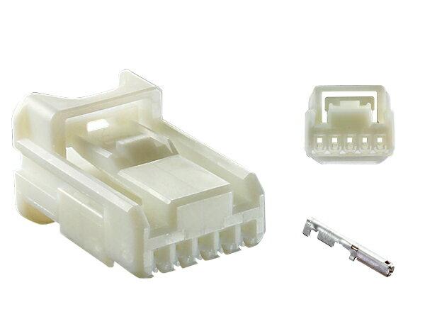 住友電装025型5極TSシリーズFコネクタ(端子付)/5P025K-SMTS-F
