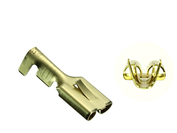 250型0.85〜2.0mm電線用メス端子非防水/F250