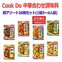 即食 時短食 レトルト 送料無料 味の素 Cook Do クックドゥ 中華用 合わせ調味料 20個