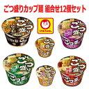 新着 にぎわい広場 マルちゃん ごつ盛り カップ麺 6種×2個 12個セット 関東圏送料無料