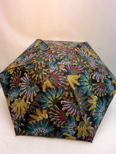 雨傘・折畳傘-婦人 超軽量カルゼツイル生地クジャク柄丸ミニ日本製折畳雨傘【10P05Nov16】 傘 雨具 梅雨対策 ゲリラ豪雨変更