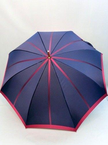 雨傘・長傘-婦人 甲州織先染中ボーダー軽量金骨ジャンプ日本製雨傘【10P05Nov16】 傘 雨具 梅雨対策 ゲリラ豪雨
