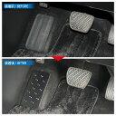 エルグランド E52 前期 後期 フットレスト ペダルカバー 足置き 選べる2色 アルマイト仕上 フロアマット 内装パーツ 内装 カスタム パーツ