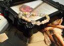 ☆雑念を払い魅力アップ☆(上品・可愛いお守りブレスです!)水晶 人工パール ローズクォーツ 高品質!