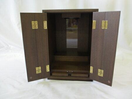 限定1台!国産品の家具調仏壇 上置型 展示品特価...の商品画像