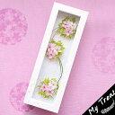 ●桜毬 ガラスフレーム ギフト 母の日 プリザーブドフラワー...