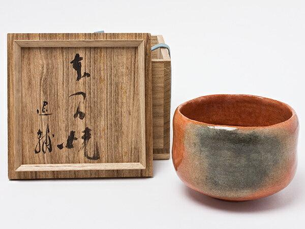 【送料無料】池田退輔 作 本間焼 赤茶碗 ikedataisuke-04お茶のふじい・藤井茶舗