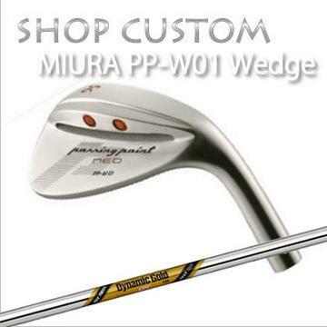【カスタムモデル】MIURA PP-W01 WEDGE Dynamic Gold CPT Tour Issue三浦技研 PP-W01 ウェッジ ダイナミックゴールド CPT ツアーイシュー 【送料無料】【旨い】