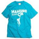 楽天SCOPY猫 ねこ Tシャツ HANGING ON ( ターコイズ ブルー )   ネコ 猫柄 猫雑貨   メンズ レディース 半袖 トップス   かわいい おしゃれ 大人 ペアルック お揃い プレゼント   大きいサイズ   SCOPY / スコーピー