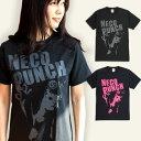 猫 ねこ Tシャツ NECO PUNCH ( ブラック ) | ネコ 猫柄 猫雑貨 | メンズ レディース 半袖 トップス | かわいい おしゃれ 大人 ペアルック お揃い プレゼント | 大きいサイズ | SCOPY / スコーピー