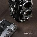 cam-in ソフトシャッターボタン | レリーズボタン オリジナル 凹面 - スチールグレー CAM9018