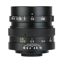 中一光学 ZHONGYIOPTICSSPEEDMASTER25mmF0.95-マイクロフォーサーズマウント単焦点レンズ