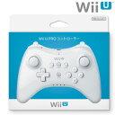 【あす楽10日着★12月9日発送★新品】WiiU周辺機器 Wii U PRO コントローラー シロ (shiro) (WUP-A-RSWA)