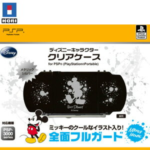 【処分特価★+5月28日発送★新品】PSP周辺機器 ディズニーキャラクター クリアケース for PSP ミッキー