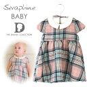 ショッピングアルター Seraphine BABY セラフィン ベビー ROSE ピンクタータンのウールワンピース  サイズ:12ヶ月・18ヶ月