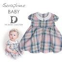 ショッピングアルター Seraphine BABY セラフィン ベビー ROSE COTTON ピンクタータンのコットンワンピース  サイズ:12ヶ月・18ヶ月