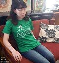 Rain Tシャツ (グリーン) BPGT sp016tee-gr-Z完- 半袖 緑色 レイン 雨 あめ イラスト かわいい 可愛い ポップ キャラクター カジュアル..