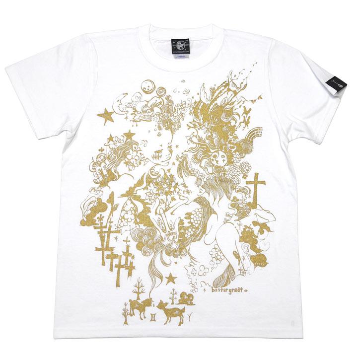 双子座ガール Tシャツ (ホワイト) bast...の紹介画像3