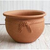 テラコッタ E12 Lサイズ  ≪植木鉢/陶器/テラコッタ・素焼き鉢系≫