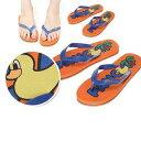 ショッピングレディース 【正規品】PANCOAT パンコート アヒル 靴 sandal サンダル POPDUCK PANCOAT LOGO PRINT FLIP FLOP (GRAPEFUIT ORANGE) キャラクター ビーチサンダル 夏 海 メンズ レディース