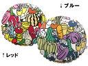 ■ホコモモラ メルカード【ラウンドクッションカバー】(直径55cm)【ベッドリネン】