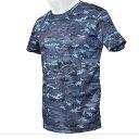 自衛隊グッズ 海自迷彩 ドライ Tシャツ 紺デジ迷彩  05P03Dec16