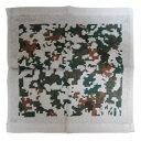 自衛隊グッズ タオルハンカチ 空自デジタル迷彩柄