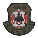 自衛隊グッズ ワッペン 百里基地 第7航空団 第302飛行隊パッチ ベルクロ付