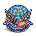 自衛隊グッズ ワッペン ブルーインパルスBlue Impulse エンブレム パッチ ベルクロ付 小  05P03Dec16