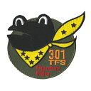自衛隊グッズ ワッペン 百里基地 第301飛行隊 Fhantom Rider パッチ ベルクロ付