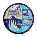 自衛隊グッズ ワッペン Blue Impulse ブルーインパルス 2017ツアーパッチ(片面ベルクロ付き)