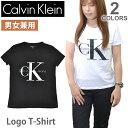 カルバン・クライン ジーンズ【Calvin klein Jeans】レディース メンズ ロゴ Tシャツ 半袖