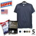 ソフィーRingspun Cotton Moisture Management Tee 682M メンズ コットン シャツ 3-PACK コットンシャツ インナー 半袖 Tシャツ 3枚セット 米軍