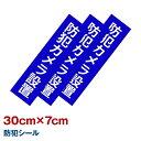 防犯カメラステッカー ダミーカメラ 防犯シール 7x 30cm 【あす楽対応】