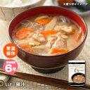 おいしい非常食 LLF食品 豚汁180g(ロングライフフーズ とん汁 みそ汁 味噌汁 美味しい)
