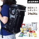 防災セット レギュラー【送料無料】 基本の避難持ち出しセット...