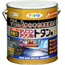 アサヒペン油性超耐久シリコンアクリルトタン用3KG新茶