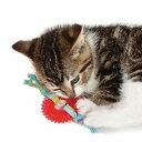 エントリーでポイントアップ【メール便対応可】ネコの噛みたい欲求を満たす Petstages キティー・チュー・ホイール【猫/おもちゃ/ストレス/】