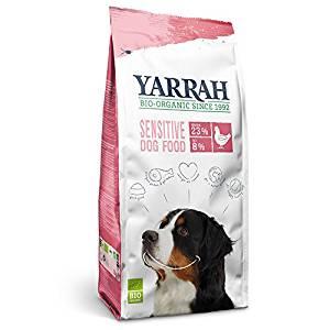 正規品 YARRAH ヤラー オーガニック ドッグフード センシティブ 2kg 【犬/消化/アレルギー/ドッグフード】