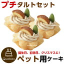 誕生日ケーキ クリスマスケーキ ワンちゃん用 犬用 ワンちゃん用 プチタルトセット(栗のタルト) 3個 ペットケーキ