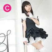 メイド服【送料無料】普通のオリジナルメイド服の2倍以上売れてる人気のメイド服【大きいサイズXLあり♪】ブラックカーディナルメイド服