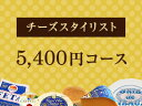 チーズスタイリスト5400円コース 【楽ギフ_包装】