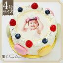 ≪シェリーブランの写真ケーキ≫誕生日ケーキ バースデーケーキの新定番 みんなが楽しめる写真ケーキを送ってみませんか?写真ケーキ4号サイズ(2〜3名用)5P04J...