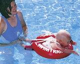 リトルプリンセス SWIMTRAINER スイムトレーナー(レッド) ベビー用浮き輪 6ヶ月〜4歳(8〜18kg)まで