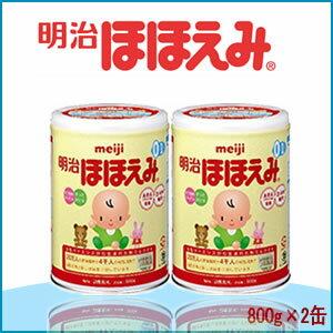 明治 Hohoemi 2 罐包 800 g x 2 罐牛奶奶粉明治 Hohoemi 乳粉