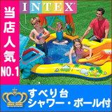 �ڲ�ʪ���Ԥ���������̵����ۥ���ƥå��� �ס��� INTEX �ӥˡ���ס��� �����ʥ����ץ쥤���� 249��191��109cm �ܡ��� ���� �ܡ��� �夢���� �쥸�㡼�ס��� �����ѥס��� ���å� �Ҷ��ѥס��� �����ѥס���