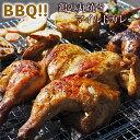 【 送料無料 】 バーベキュー BBQ 鶏の丸焼き スパッチコック 丸鶏 1羽 惣菜 ボリューム カレー グリル 生 肉 チルド アウトドア パーティー